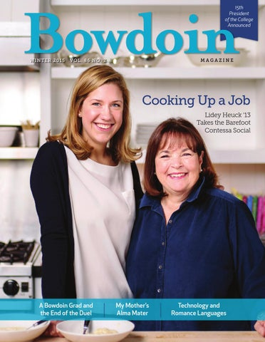 Bowdoin Magazine Vol  86, No  2, Winter 2015 by Bowdoin magazine - issuu