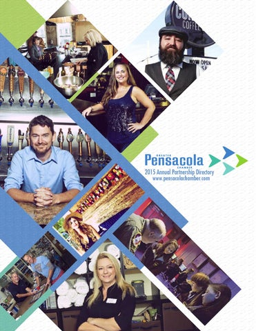 Greater Pensacola Chamber 2015 Annual Partnership Directory