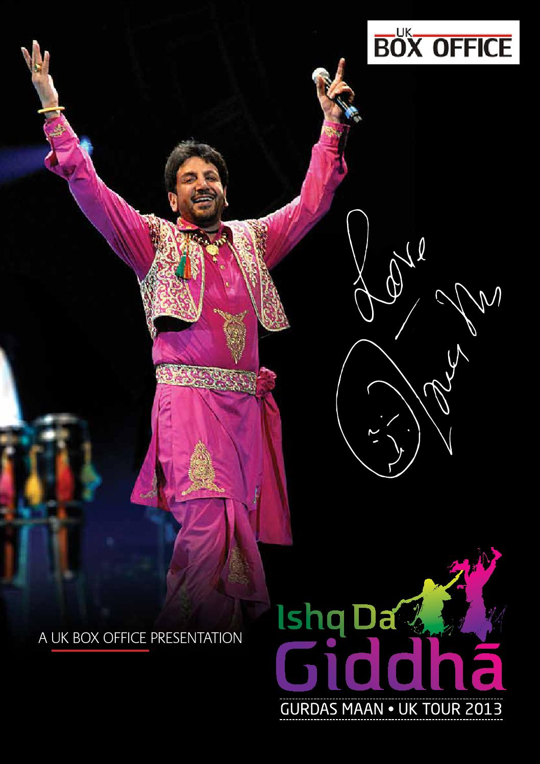 Ishq Da Giddha 2013 by UK Box Office - issuu