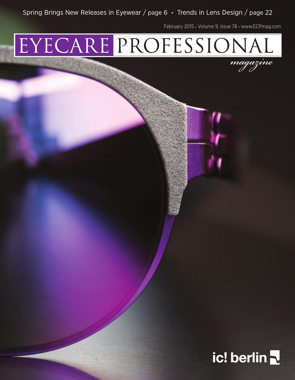 Eye Care Professional Magazine - February 2015 Issue by ECP Magazine - issuu 3ae22911f6aa
