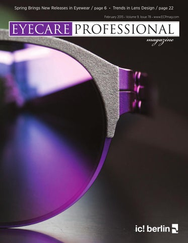 fe6301a8e12 Eye Care Professional Magazine - October 2015 Issue by ECP Magazine ...