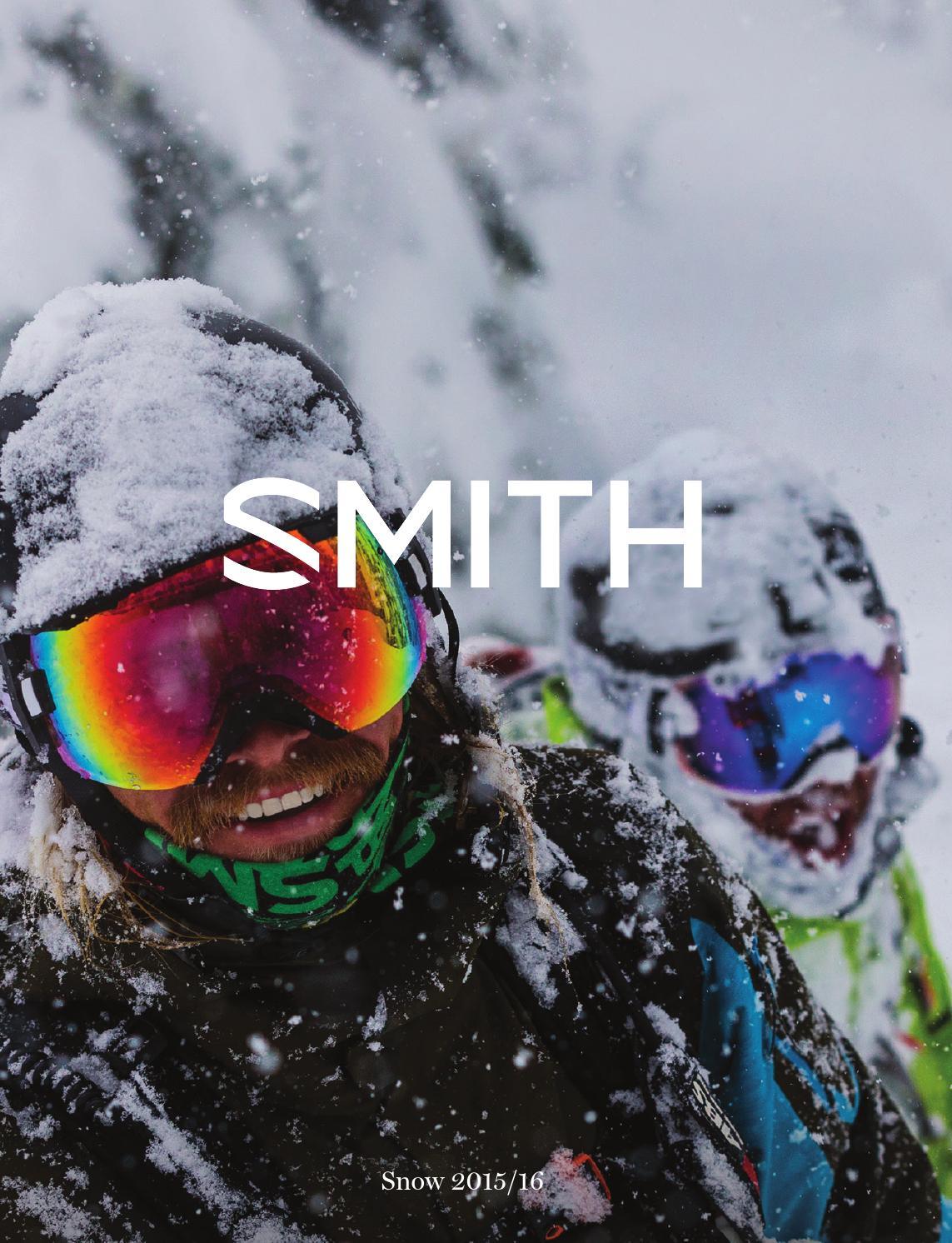 9a29fbb7725d 2016 Smith Snow Catalog by Smith - issuu