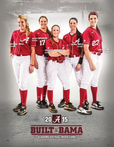 4234d23d044 2015 Softball Media Guide by Alabama Crimson Tide - issuu