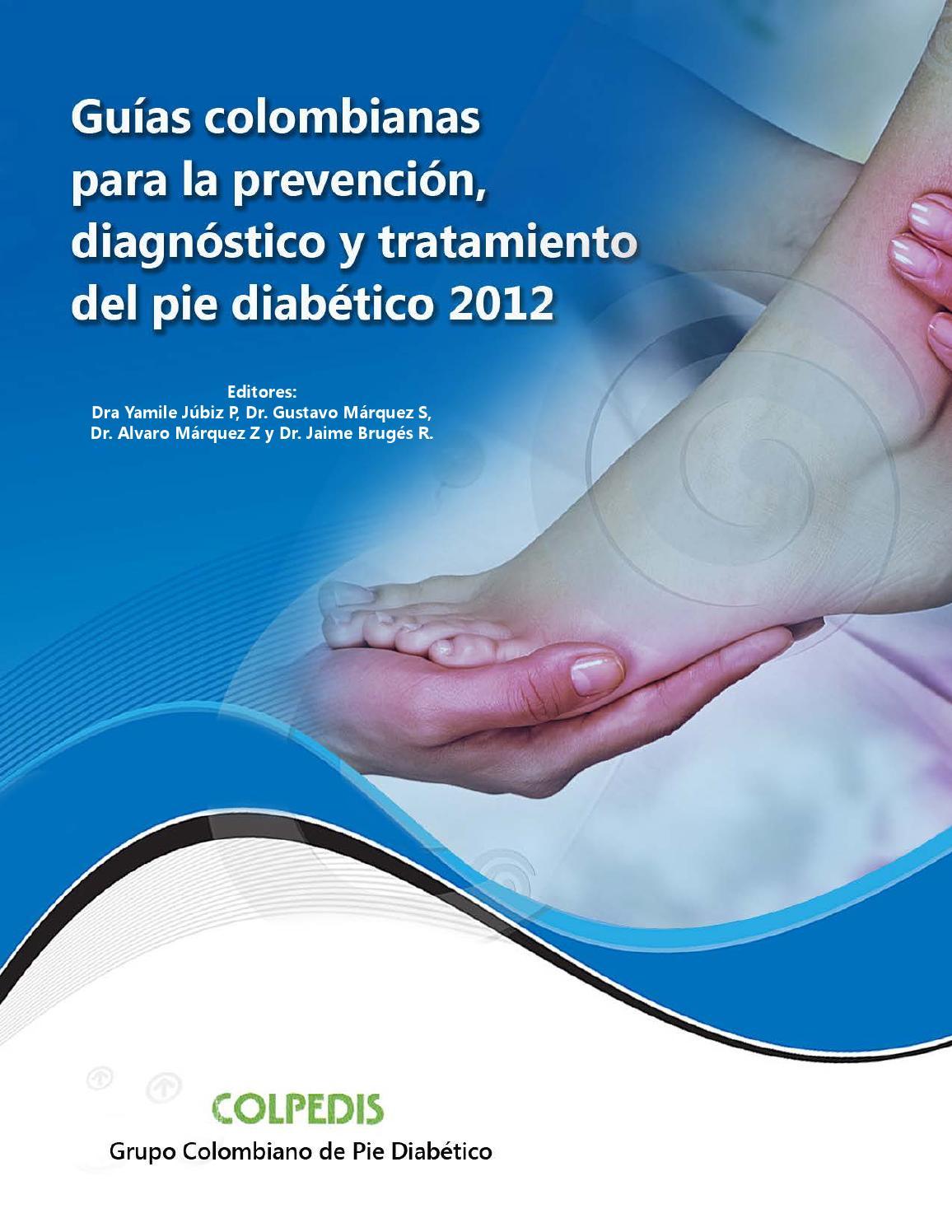Prevención y tratamiento de úlceras de piernas y pies en diabetes mellitus