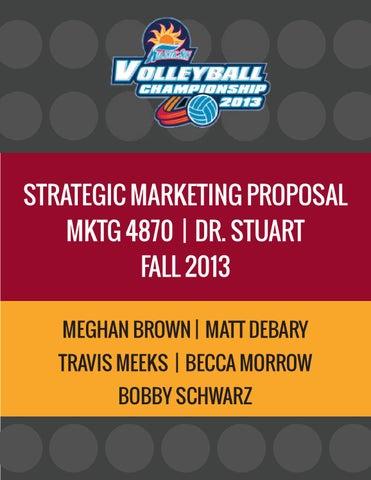 Sports Marketing Proposal by Becca Morrow - issuu