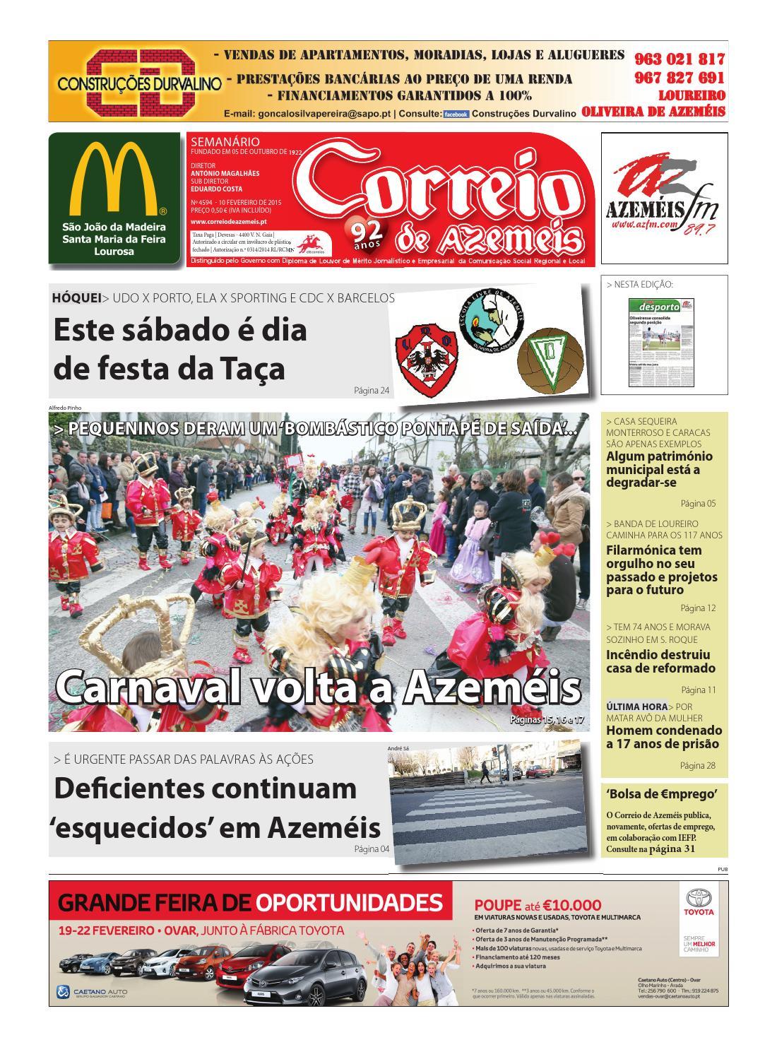 10 02 2015 by Correio de Azeméis - issuu 76dad78602