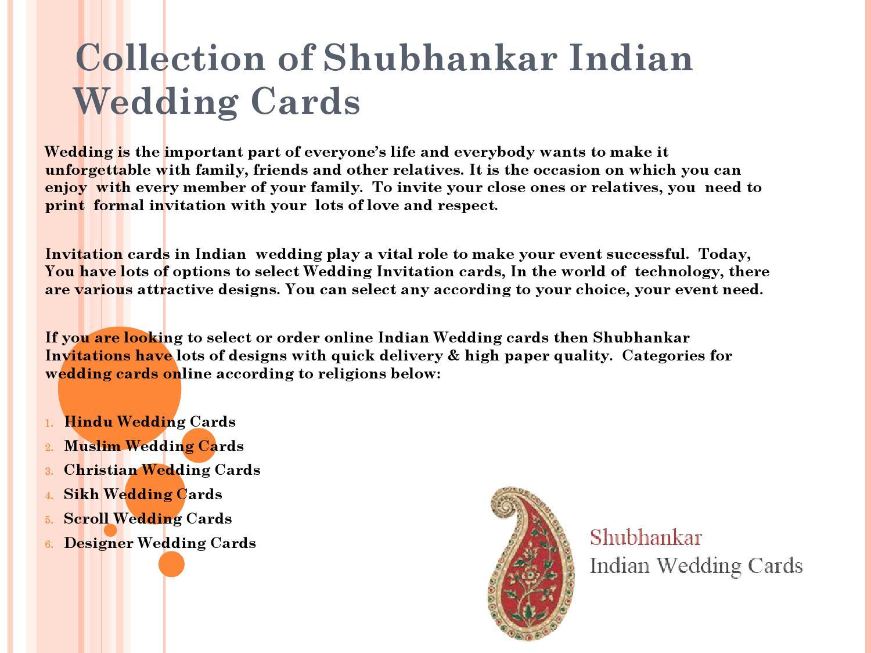 Collection of shubhankar indian wedding cards by Shubhankar Wedding  Invitations - issuu