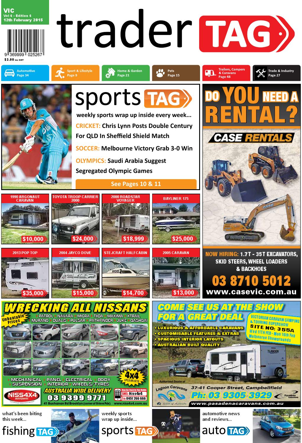 Tradertag Victoria Edition 6 2015 By Design Issuu Windsor Rapid Caravan Wiring Diagram