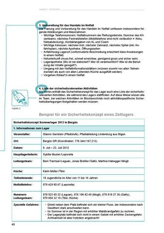 page 40 - Sicherheitskonzept Muster