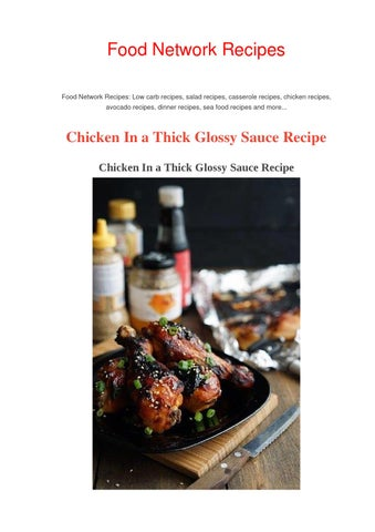 Teriyaki chicken recipe food network recipes by food network food network recipes food network recipes low carb recipes salad recipes casserole recipes chicken recipes avocado recipes dinner recipes sea food forumfinder Gallery