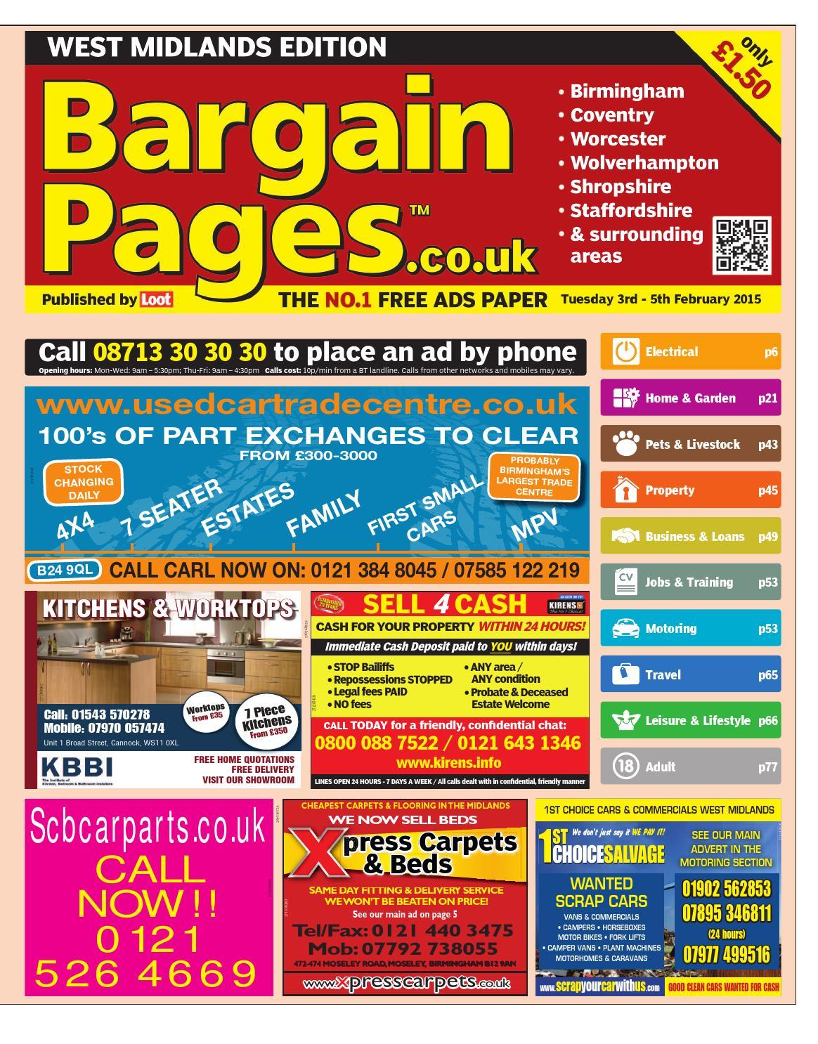 ff382e54cba Bargain Pages West Midlands