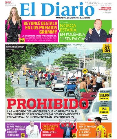 El Diario edición impresa martes 10 de febrero del 2015 by EDIASA ... bbe0e919640