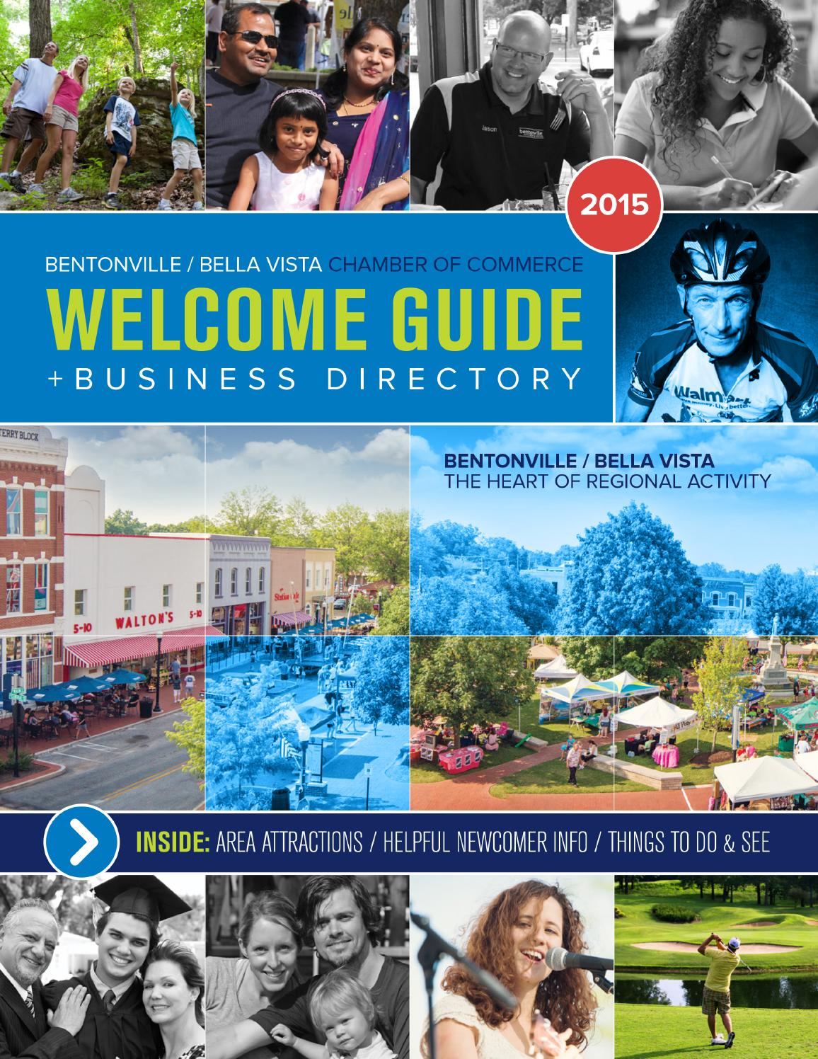 2015 Bentonville / Bella Vista Chamber of Commerce Welcome Guide + ...