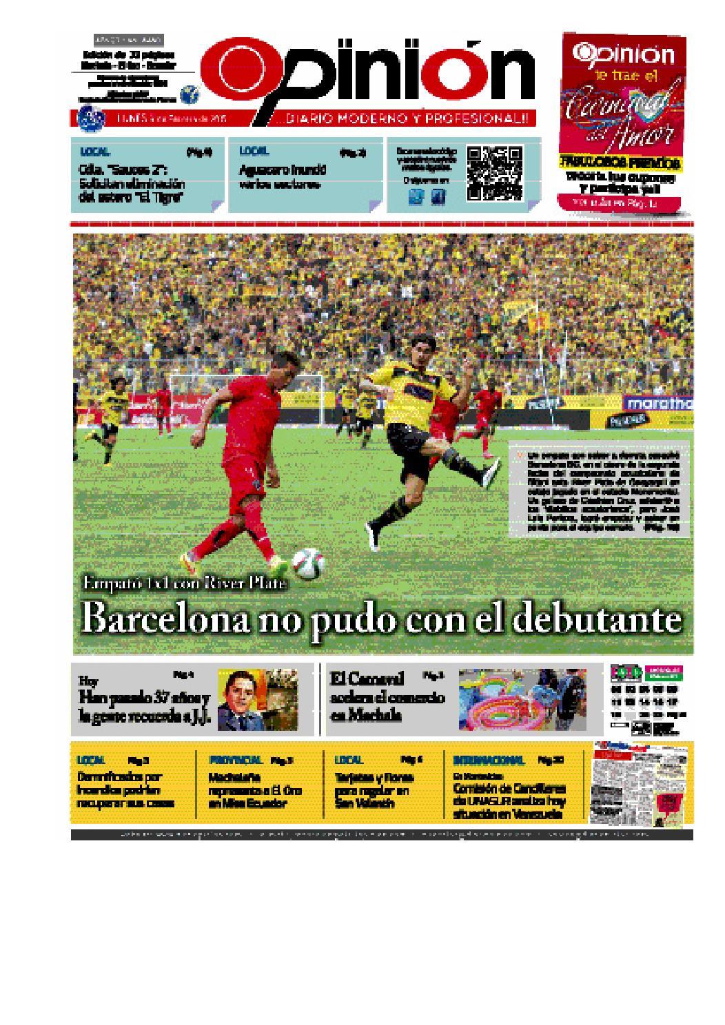 Impreso 09 02 15 by Diario Opinion - issuu 7341e1b63e4e0