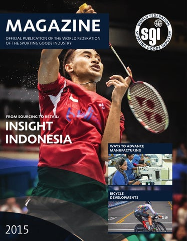 a0de970bd8aa8 WFSGI Magazine 2015 by World Federation of the Sporting Goods ...