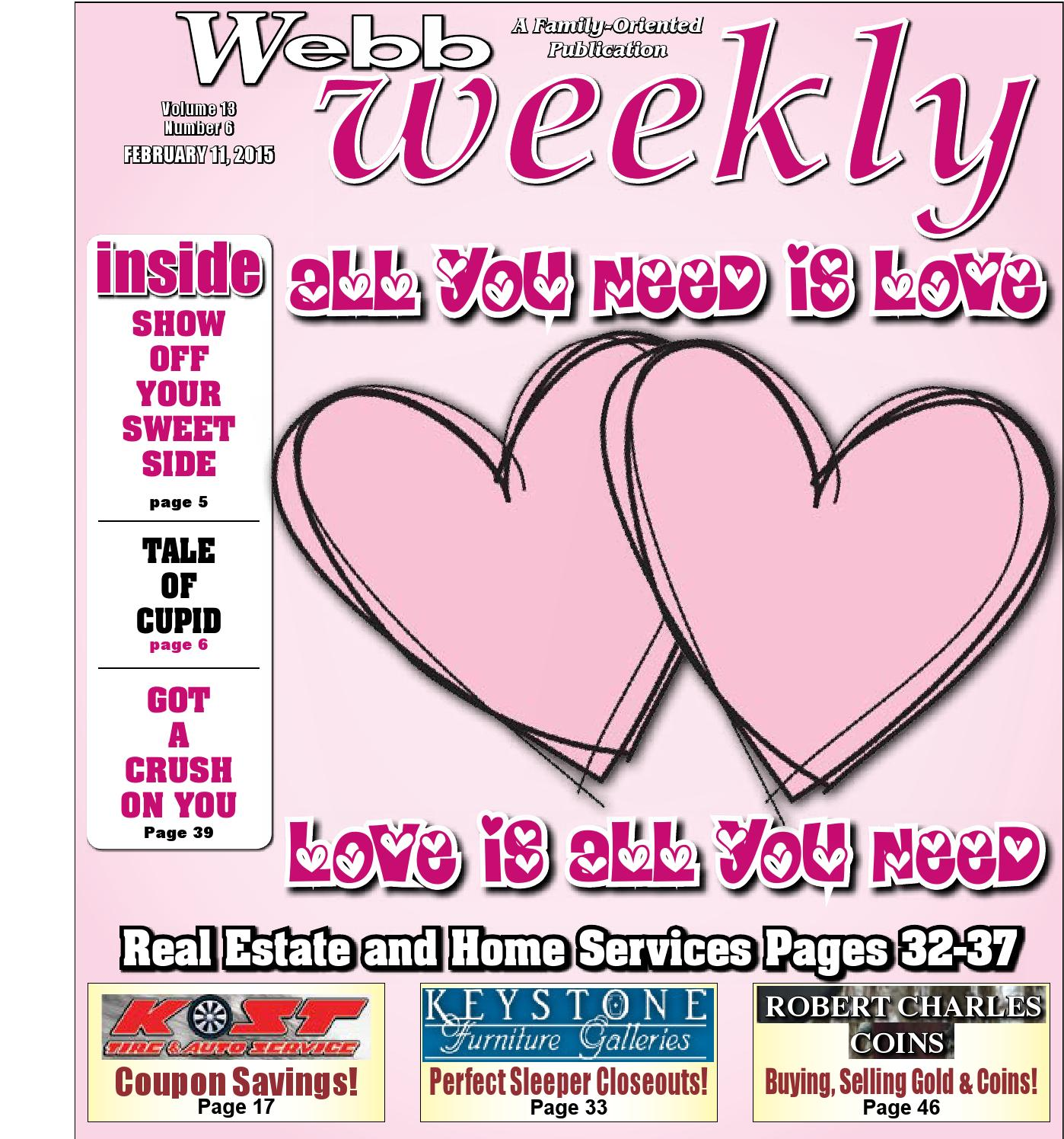 Webb Weekly February 11, 2015 by Webb Weekly - issuu