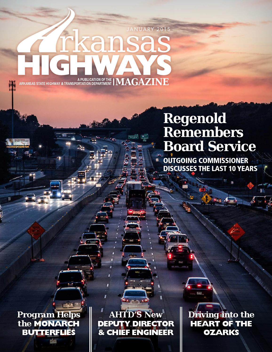 Arkansas Highways Magazine January 2015 By Arkansas Department Of