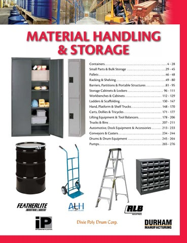 d4916f8cca Material Handling   Storage P0001-0277 by CMI Sales Inc. - issuu
