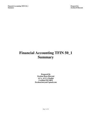 Tfin50 Part 2 Pdf
