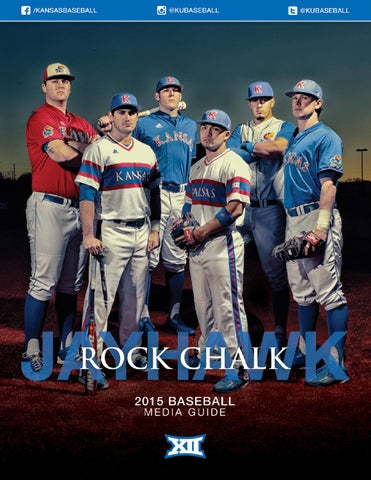 2015 Kansas Baseball Media Guide by Kansas Jayhawks - issuu 6a9a85303e1a
