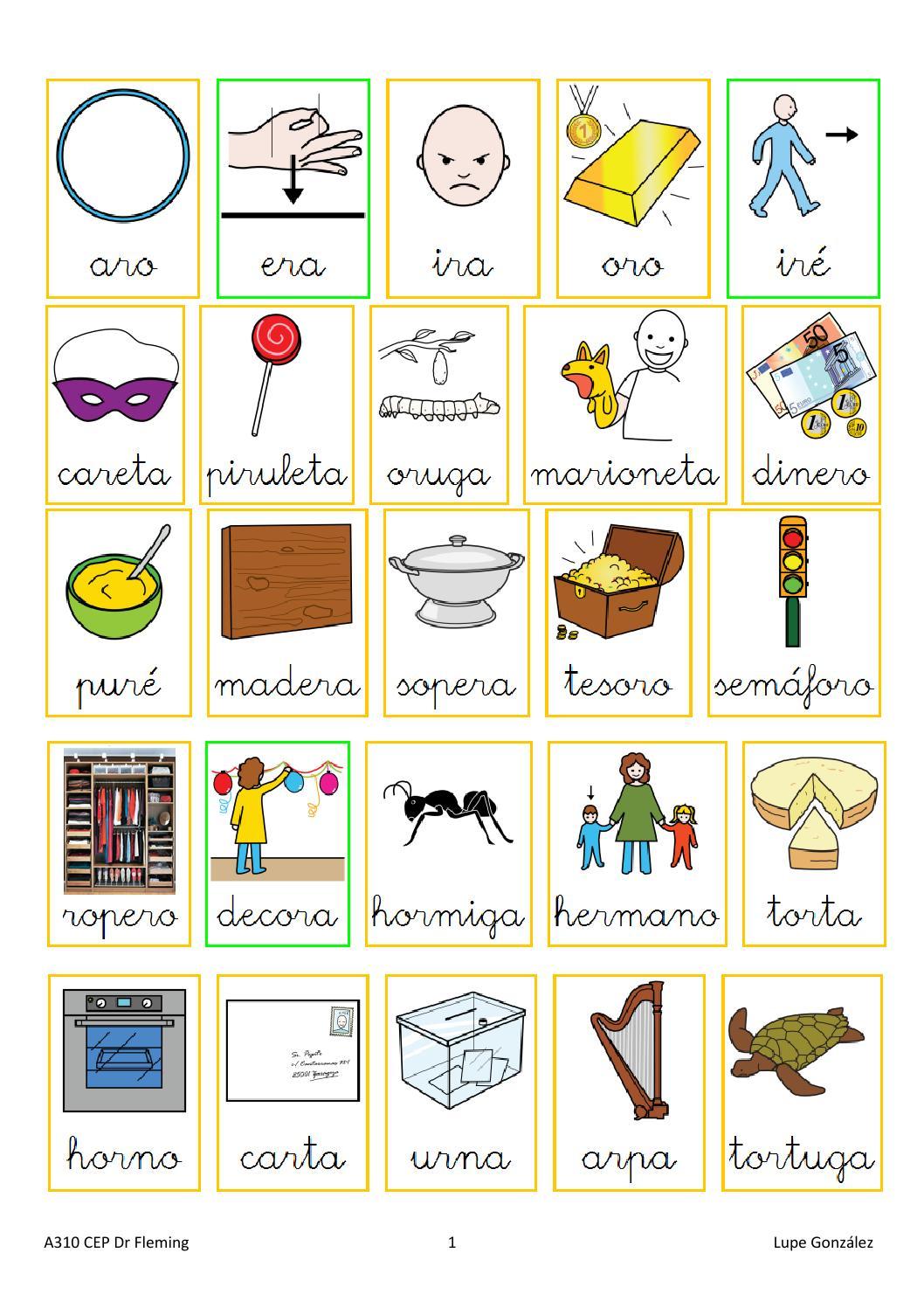 Palabras con dr dra dre dri dro dru by logopedia for Oraciones con la palabra beta