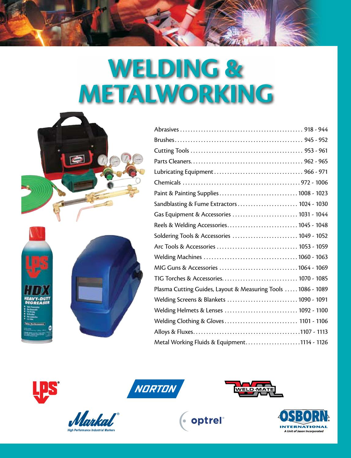 eb03d0b1471 Welding   Metalworking P0918-1127 by CMI Sales Inc. - issuu