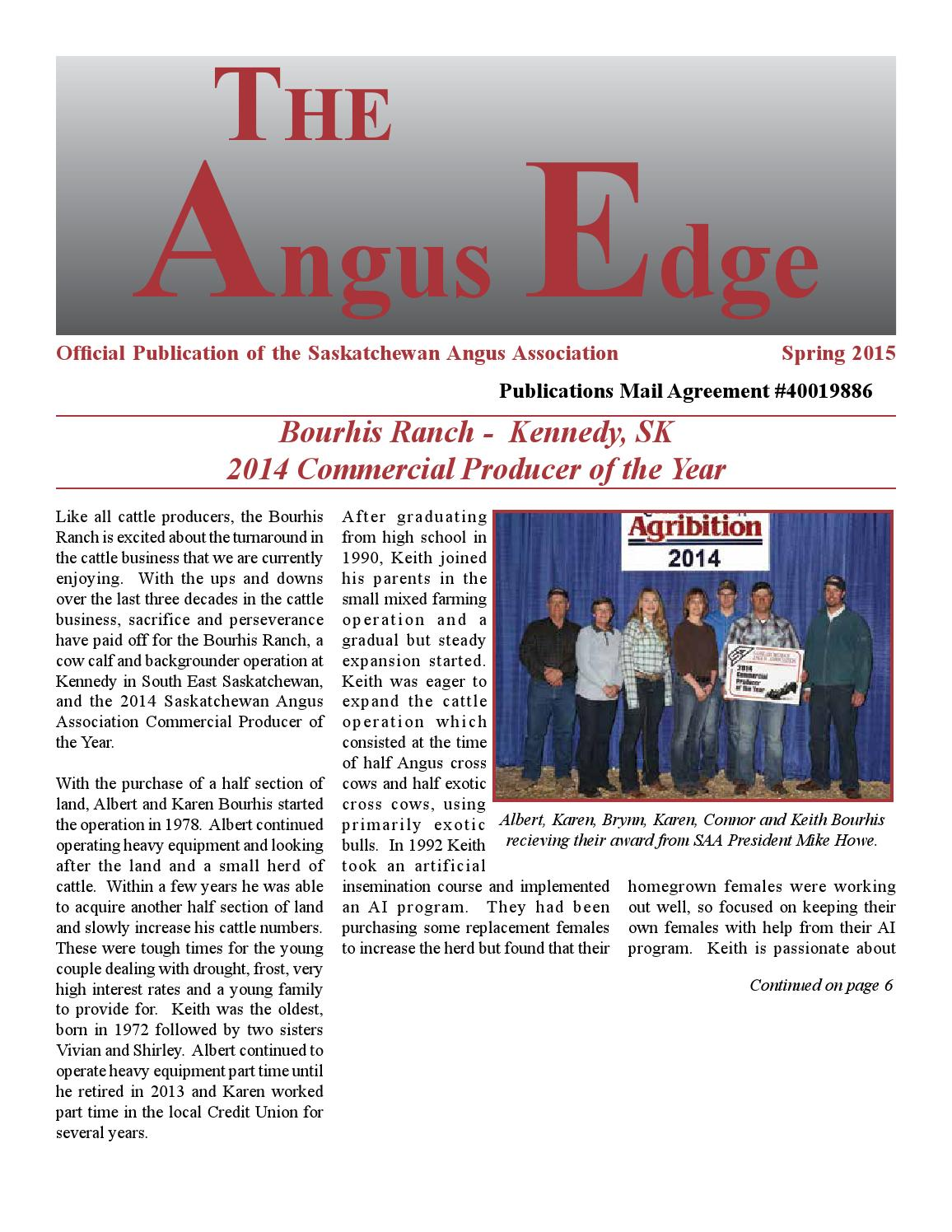 The angus edge spring 2015 by belinda wagner issuu aiddatafo Choice Image