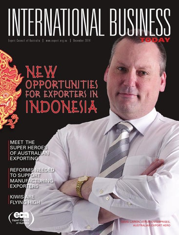 2014 eca international business today december by arkmedia issuu export council of australia export december 2014 malvernweather Images