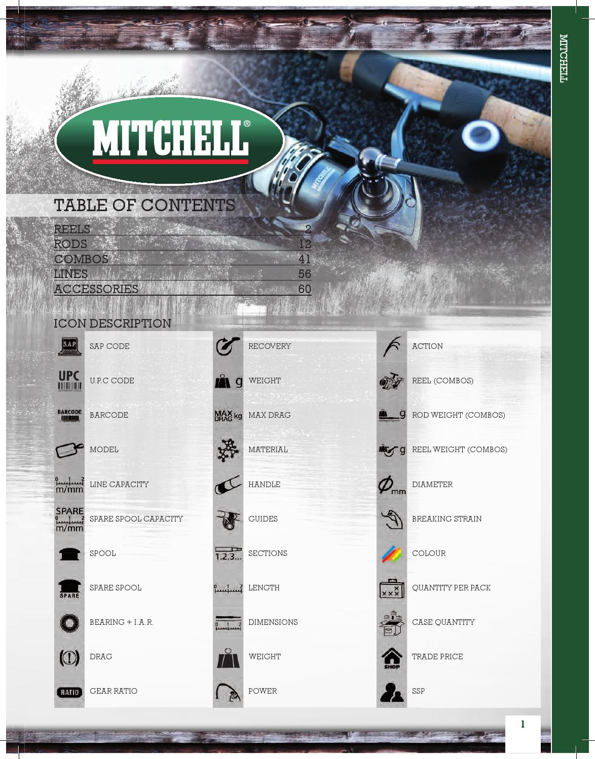 MITCHELL MAG PRO LITE EVX 732mh 12//40 SPIN 2,18m//12-40g SPINNING