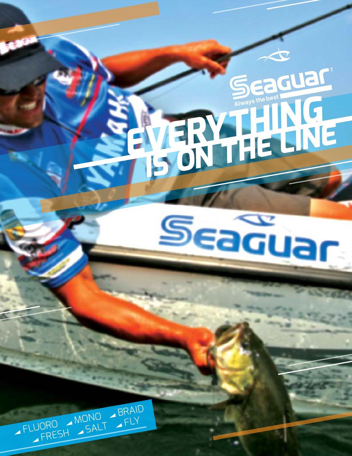 100yd 6lb Seaguar STS Salmon Trout Steelhead Fluorocarbon Leader