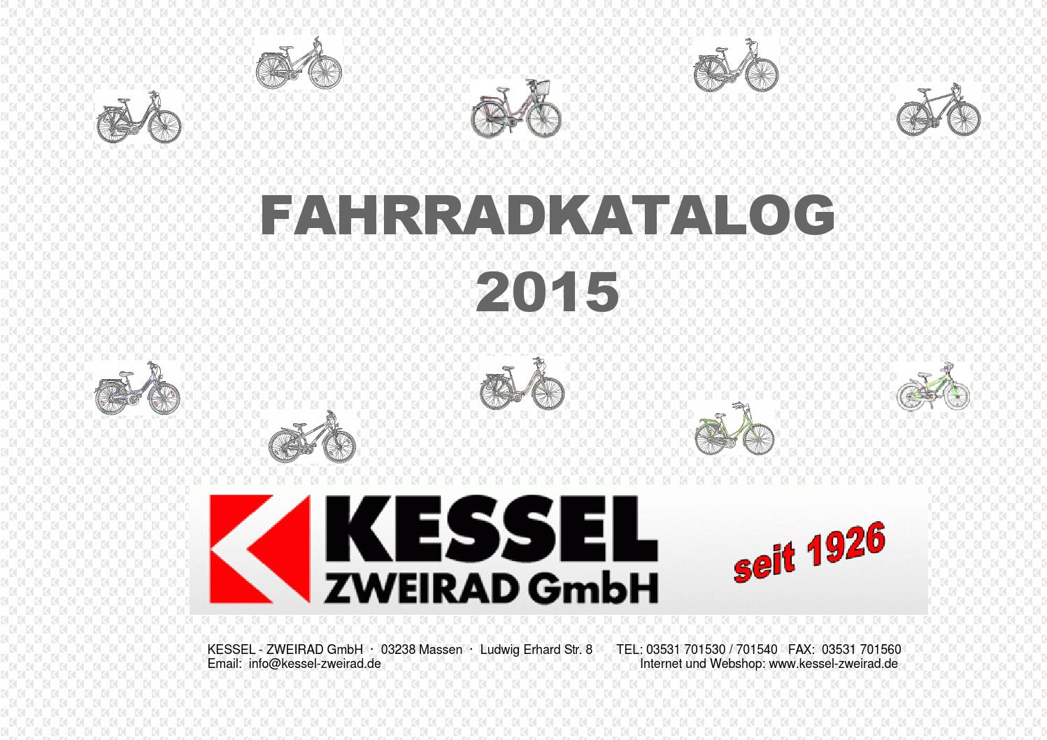 Kessel Zweirad Fahrrad Katalog 2015 by Julian Winter - issuu