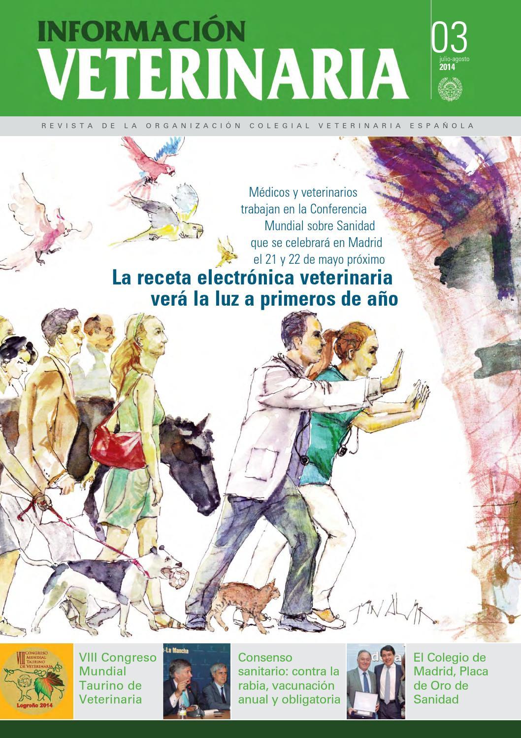2014 03 informacion veterinaria julio 2014 copy1 by Colegio ...