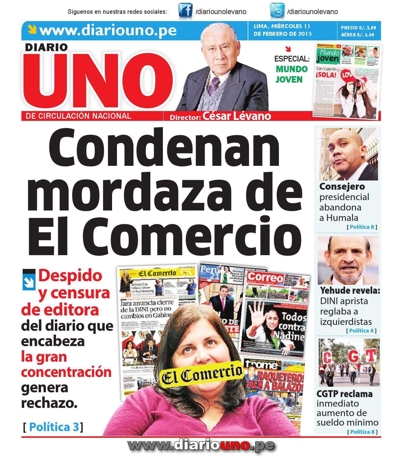 Diario UNO - 11 Febrero 2015 by Diario UNO - issuu