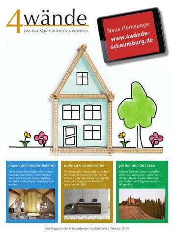 Das Magazin Fur Bauen Wohnen By Schaumburger Nachrichten