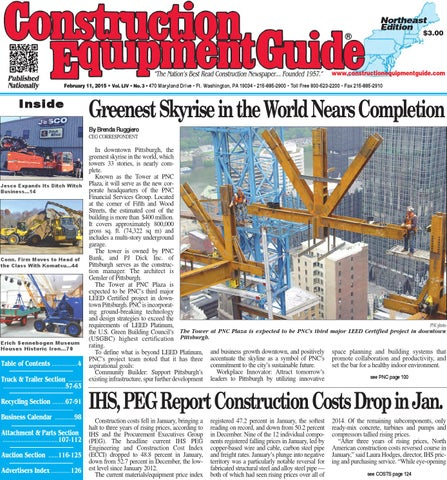 5265ea1e56a5 Northeast 03 2015 by Construction Equipment Guide - issuu