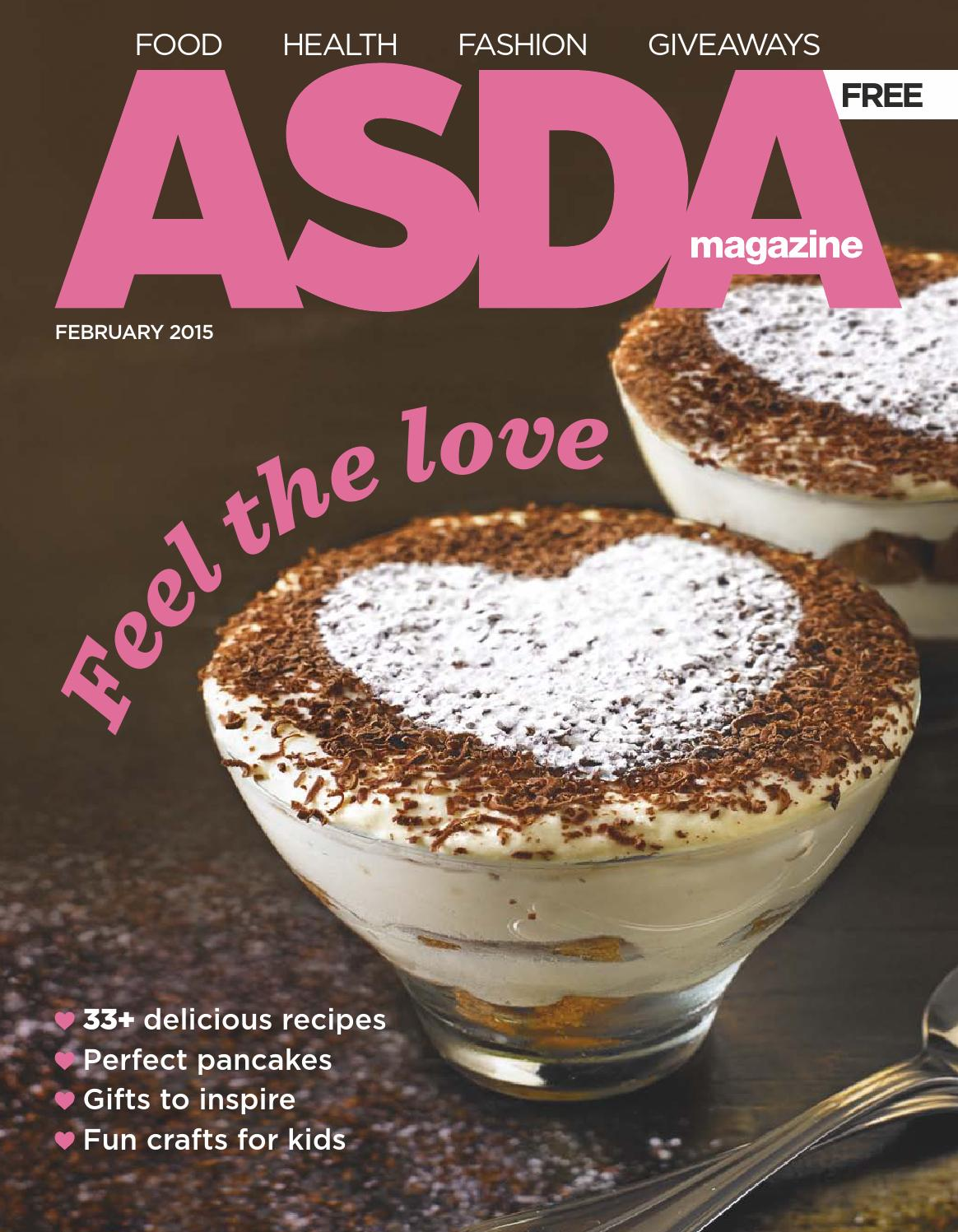 Asda Magazine February 2015 By Asda Issuu