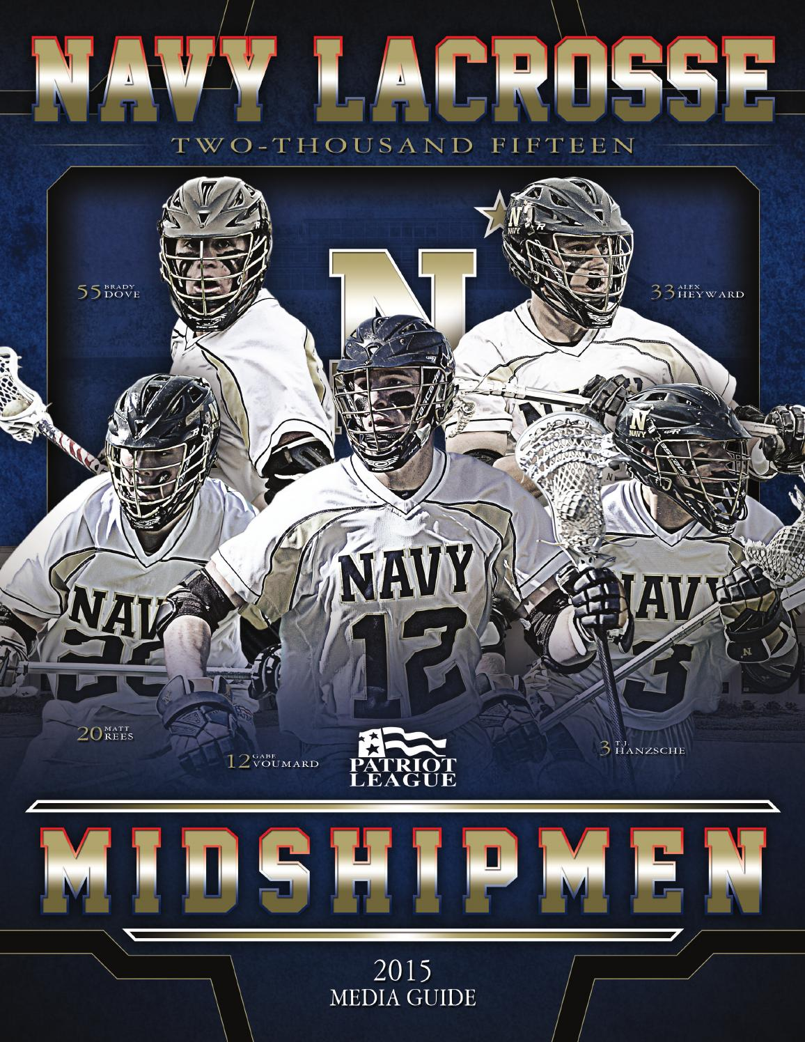 aa2012df6 2015 Men s Lacrosse by Naval Academy Athletic Association - issuu