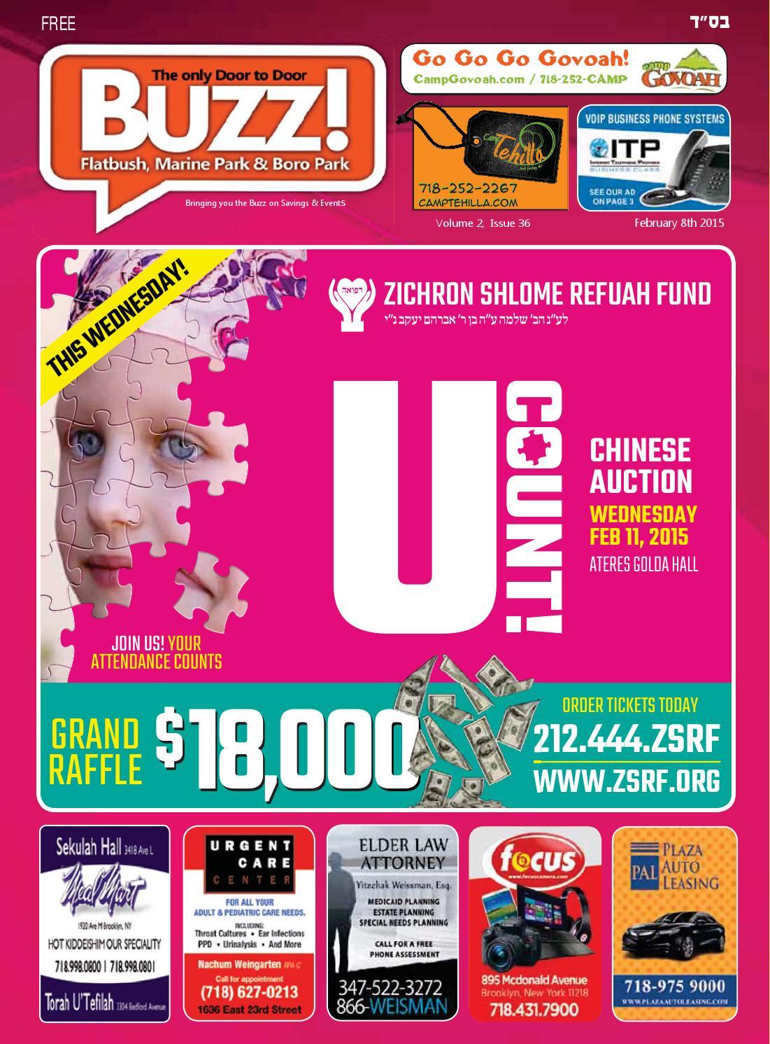 Flatbush & Five Towns Buzz February 8 2015 by Buzz Magazine - issuu