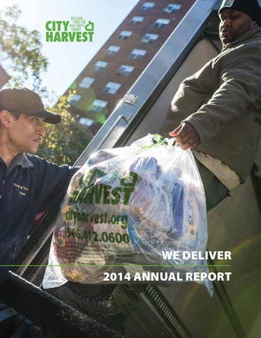 2014 Annual Report: We Deliver by City Harvest - issuu