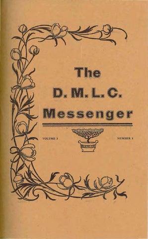 1912-1913 DMLC Messenger Vol  3