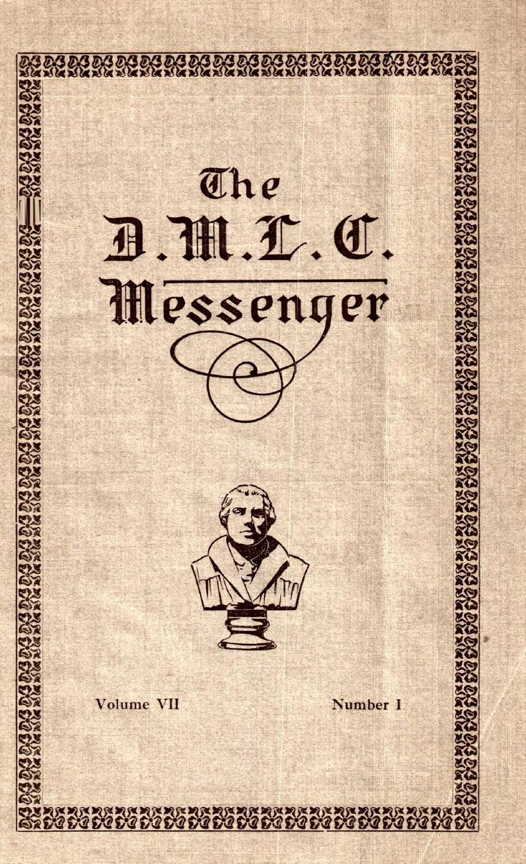 1916 1917 DMLC Messenger Vol 7 By Martin Luther College Issuu