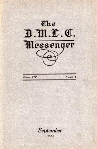 1923-1924 DMLC Messenger Vol. 14 by Martin Luther College - issuu