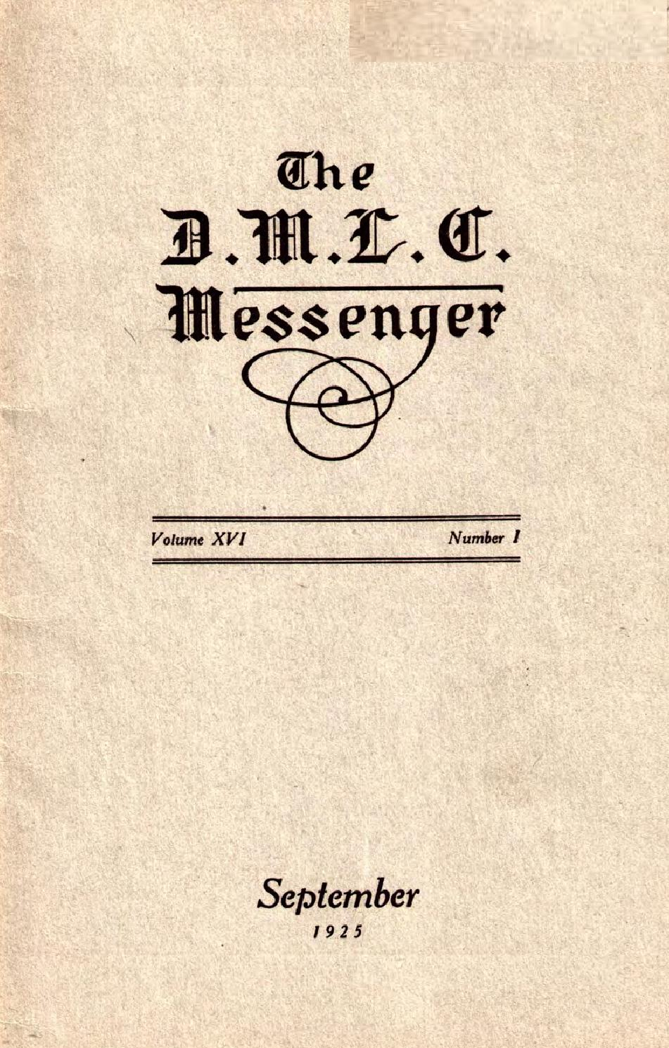 1925 1926 DMLC Messenger Vol 16 By Martin Luther College Issuu