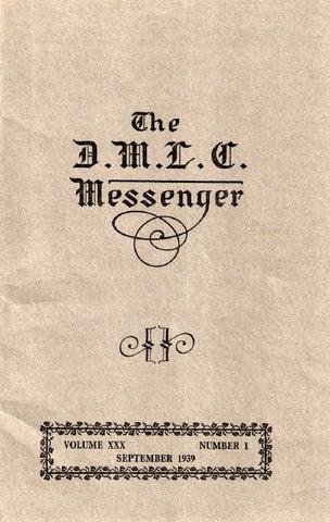 86bb74552bb 1939-1940 DMLC Messenger Vol. 30 by Martin Luther College - issuu