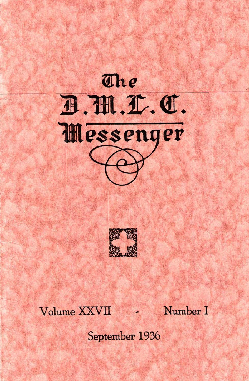 1936-1937 DMLC Messenger Vol. 27 by Martin Luther College - issuu
