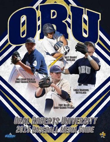 2015 ORU Baseball Media Guide by ORU Athletics - issuu 830529c62