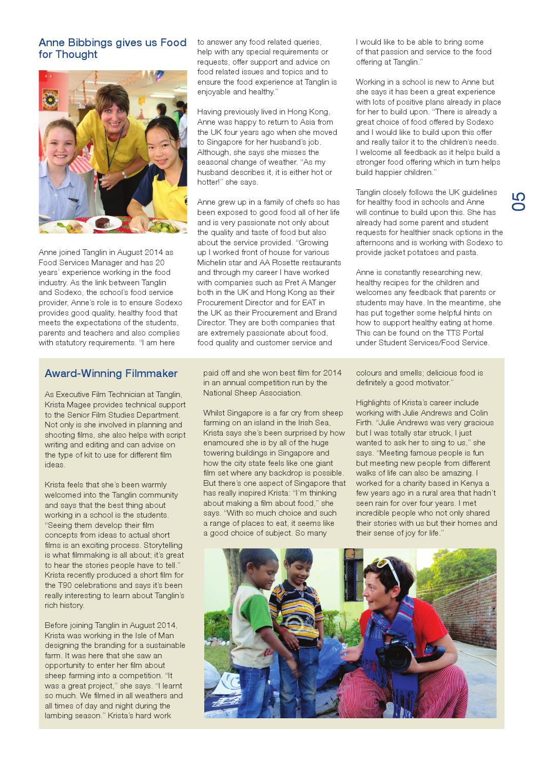 The Voice 19 by Tanglin Trust School - issuu