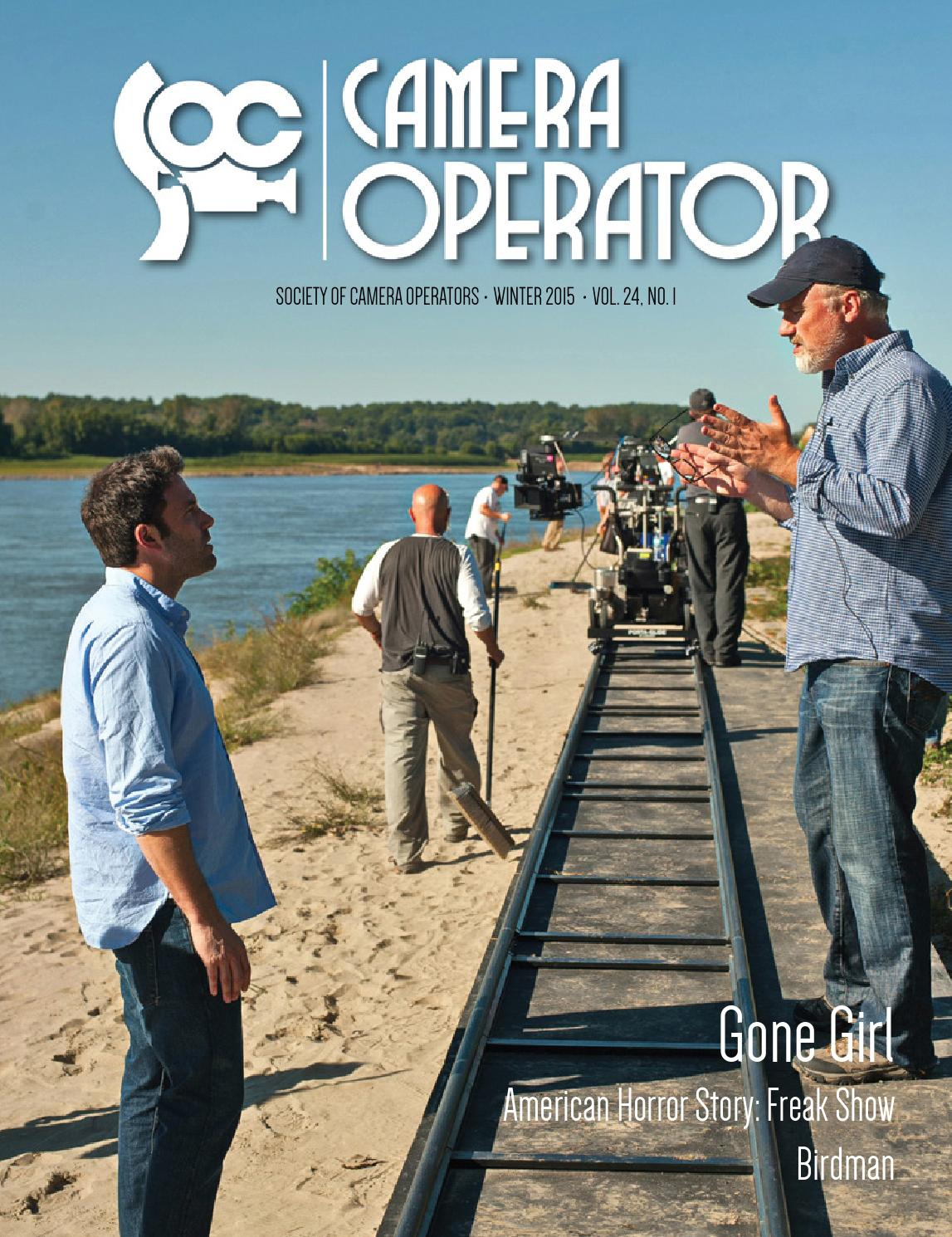 Camera Operator Winter 2015 by Society of Camera Operators - issuu