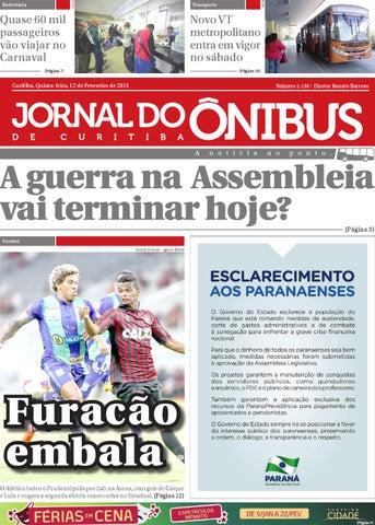 Jornal do Ônibus de Curitiba - Edição 12 02 2015 by Editora Correio ... 84646be1cbdec