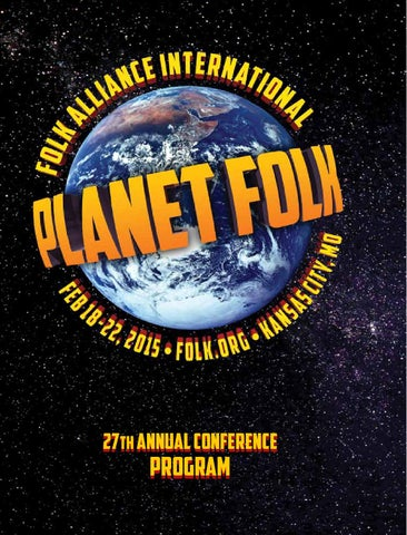 Folk Alliance International 2015 Conference Program Book By Folk